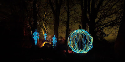 cool light graffiti photography