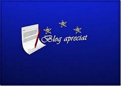Premio blog apreciado