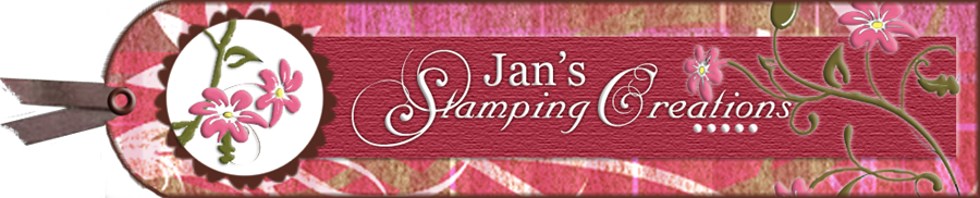 Jan's Stampin' Creations