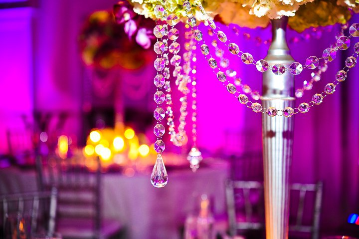Maureen and Diego 39s Fabulous Bling Wedding