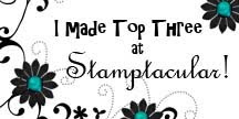 I Made Top 3 on Stamptacular