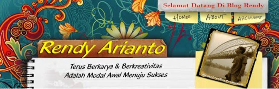 Selamat Datang Di Blog Rendy Arianto