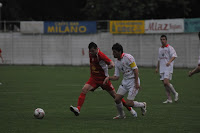 Moment from the match Rabotnicki-Pobeda