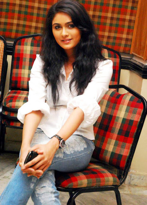 biyanka desai in tight jeanswhite shirt cute stills