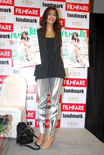 Sonam Kapoor at the launch of Filmfare Magazine