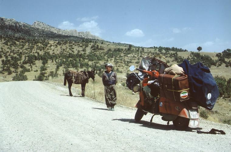 Nei pressi di Sirnak (nel Kurdistan turco, tra Cizre e Hakkâri).