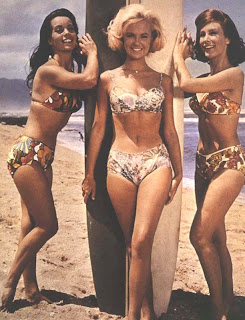 If both Shelley and Barbara are 5'4, then Susan, the tallest, gets to play the Hawaiian in 'Ride The Wild Surf.'