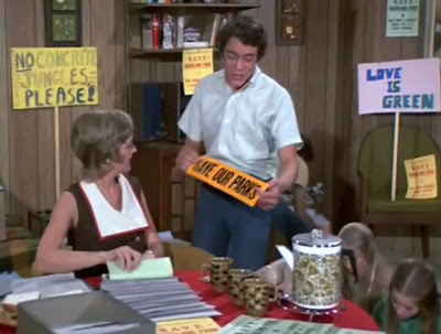from The Brady Bunch second season episode 'Double Parked,' one of the few that isn't totally double entendre-titled.