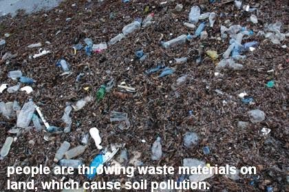 Types of pollutions types of pollution and 5 interesting for Soil and water facts