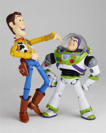woody and buzz. Woody and Buzz also soon come
