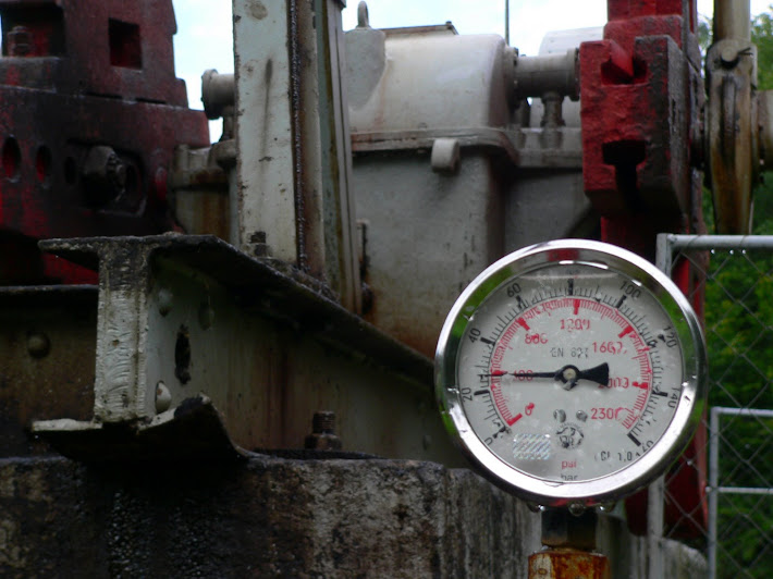 oil bar manometer pressure-guauge