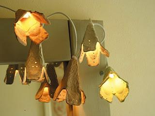 Lámparas en forma de flores 1