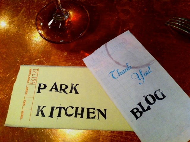 Park Kitchen Blog