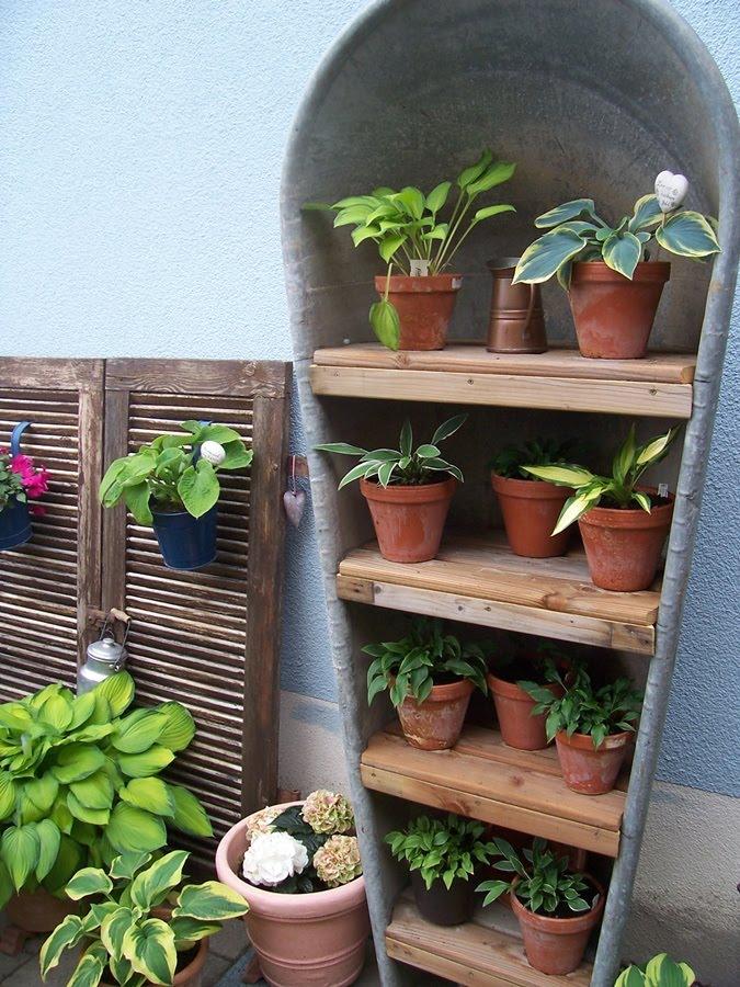 Neues Vom Lindenhof: Tinas Garten Am Kaiserstuhl Gartendeko Aus Alten Sachen Ideen