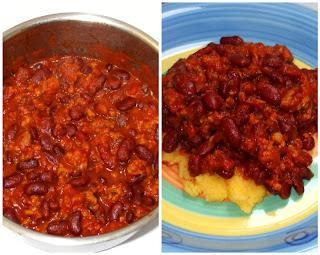 chilli con carne e fagioli kidney