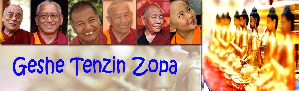 Geshe Tenzin Zopa-Thai Version