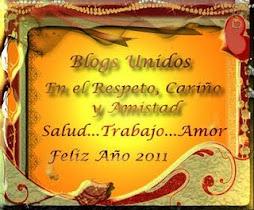 """premio Blog Unidos"" 2011"
