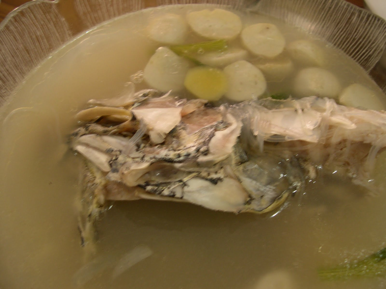 My fadelicious fish head soup for Fish head soup recipe