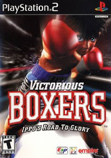 Victorious Boxers: Ippo´s Road to Glory Formato: NTSC Midia: DVD Genero: Luta Console: PS2