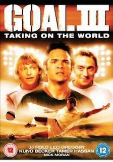 """GOL 3 2009 - DVDRip + Legenda Tudo começou em 2005, com o filme """"Goal: Every Dream Has a Beginning"""". Apesar de pouco conhecido,"""
