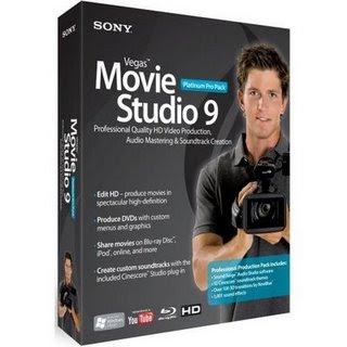 Sony Vegas Movie Studio Platinum Pro v9.0 [Todos os Plugins] + Patch Edição vídeo, produção áudio, e ser o autor de DVD vindo junto em uma única, solução poderosa.