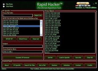 Rapid Hacker v3.7 Final Edition + Video Tutorial Galera este programa Oferece downloads instantaneos, logicamente que você será premium, mesmo não comprando uma conta, este hacker funciona 100% testado e comprovado!