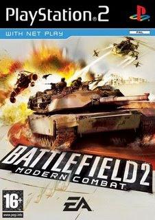 Battlefield 2: Modern Combat Plataforma: Playstation 2 Idioma: Inglês