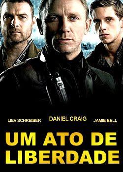 Um Ato de Liberdade 1941. Tuvia (Daniel Craig), Zus (Liev Schreiber) e Asael (Jamie Bell) são irmãos que, ao fugir da perseguição nazista aos judeus,