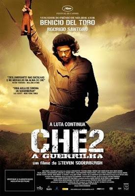 Che Parte 2 – A Guerrilha - Dual Áudio Após a Revolução Cubana, Che está no auge de sua fama e poder. Então ele desapareceu, ressurgindo incógnito na Bolívia, onde organiza um pequeno grupo de camaradas cubanos e recrutas bolivianos para começar a grande revolução latino-americana.