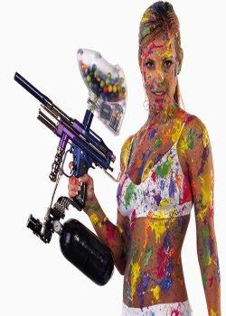 Fazendo sua própria arma de Paintball Caseira  Crie uma arma de paintball caseira com menos de 20 reais, é muito façil de se fazer uma, não perca tempo!  obs: tenha cuidado é uma arma !! hehe