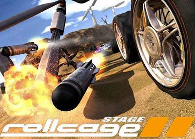 Rollcage Stage II é um jogo de corrida no estilo arcade.