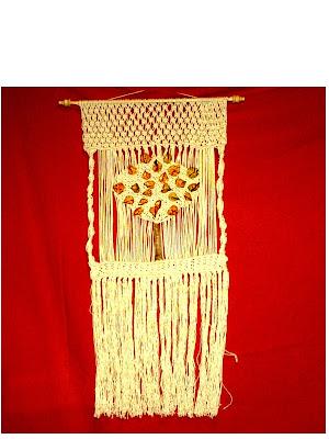 Diarana arte dise o tapices en macram - Tapices de macrame ...