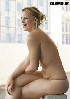 Nude women having sex in a spa
