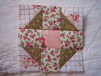 January Quilt Block of the Month free quilt pattern
