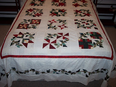 Quilt from The Wedding, Book Eight of The Quilt Ladies Book Collection