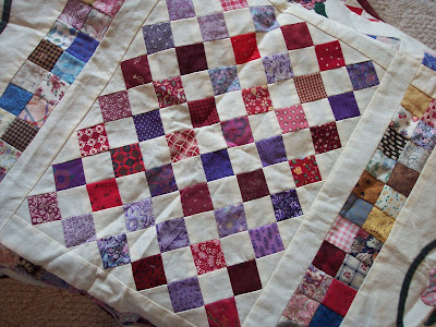 Small Quilt Ready to Hand Quilt