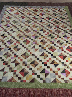 Quilt Delivered and on Their Bed