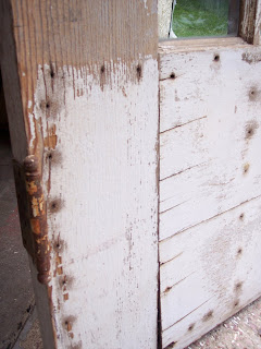 Old Wooden Door has a Head Board