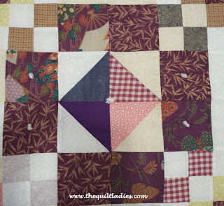 quilt on guest room bed
