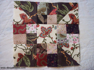 October Quilt Pattern Block of the Month free quilt pattern