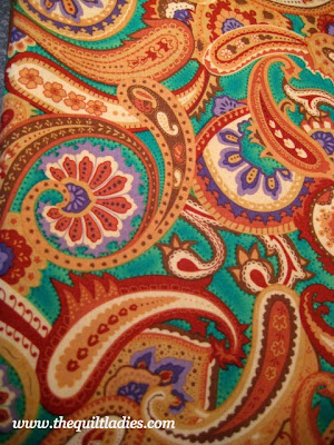 Crazy Paisley Fabric and What to Do with It