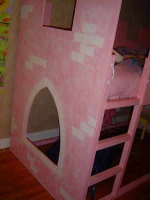Princess Loft Bed Curtains