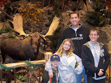 The fam in Cabela's