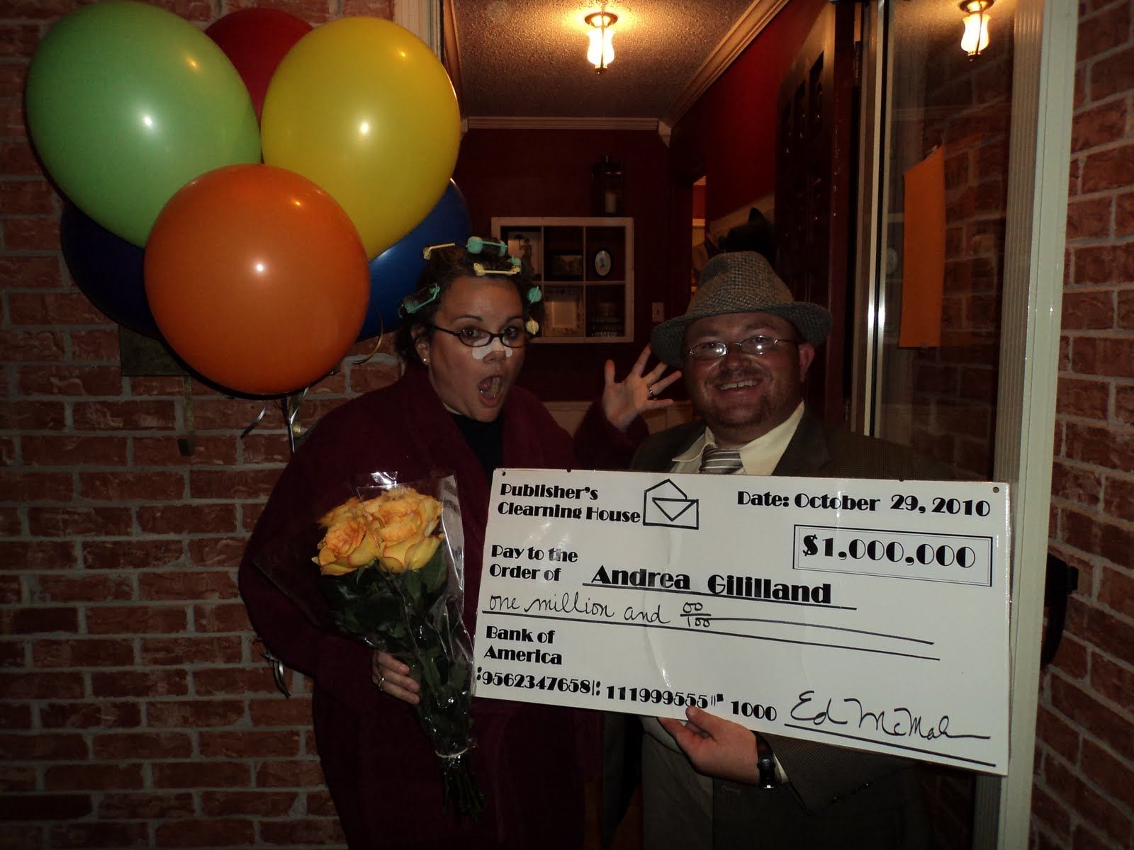 Publisher's Clearing House Costume