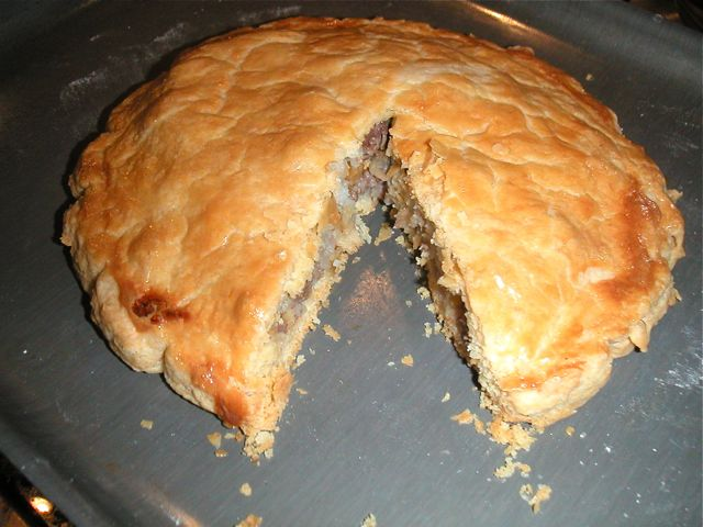 Cornish Pasty Meat Pies