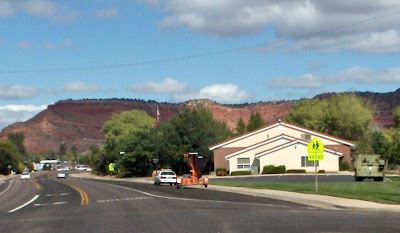 Speed trap Kanab Utah