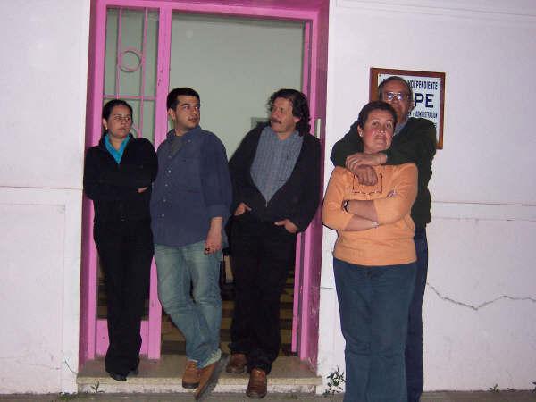 Puertas del Diario Irupé en Dolores