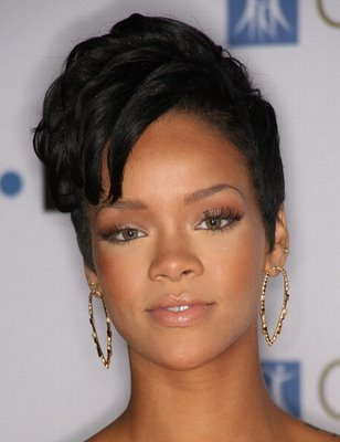 short hair cuts for black women. Rihanna Short Haircuts,