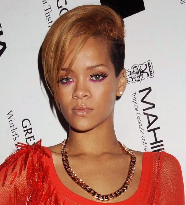 rihanna hair color. hairstyles rihanna short hair