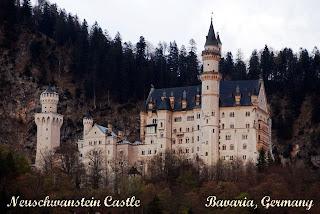 castle, Germany, Neuschwanstein
